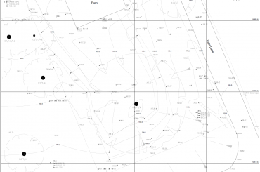 Topographical survey of land site